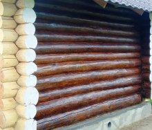 Чем покрасить сруб бани снаружи: обзор современных лакокрасочных материалов