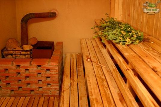 Как сделать лежак для русской бани — Справочная информация по банным печам, водогрейным котлам и печам калориферам.