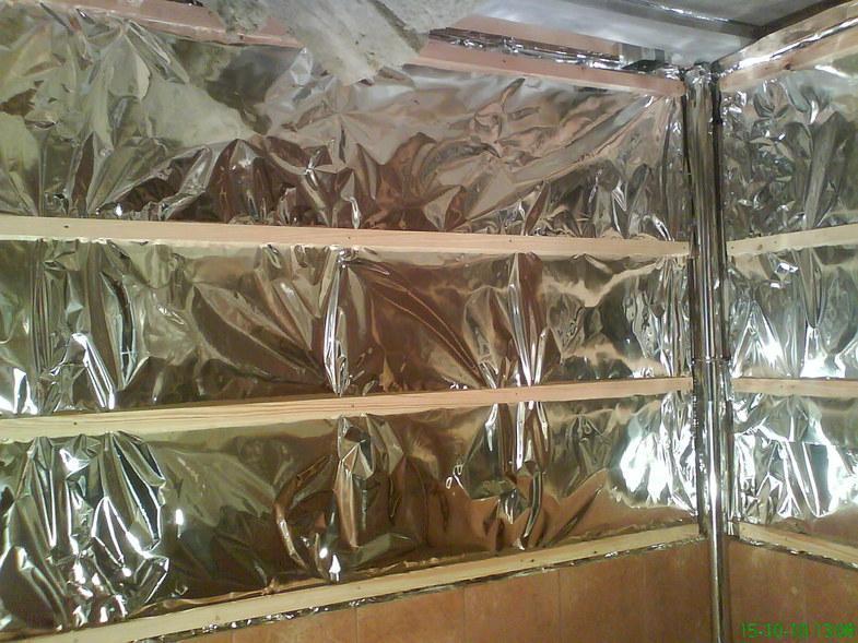 Алюминиевая фольга для утепления бани миф теплоизоляции или гениальная реальность