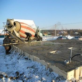 Что добавлять в бетон при минусовой температуре
