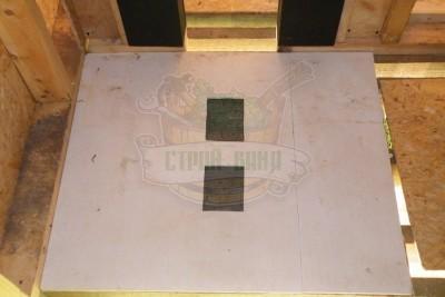 Стекломагниевый лист для защиты вентканала