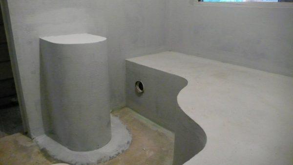Начальный этап строительства хамама